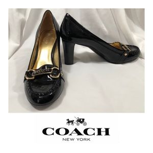 aae26567caf4 Like-New Coach Charley Black Heels